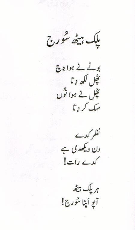23. Shah Mukhi - Palak Heth Suraj