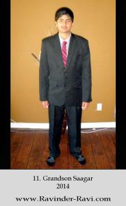 11. Grandson Saagar – 2014