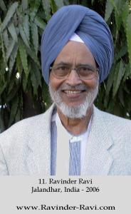 11. Ravinder Ravi - Jalandhar, India - 2006