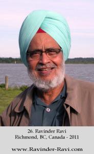 26. Ravinder Ravi, Richmond, BC, Canada - 2011