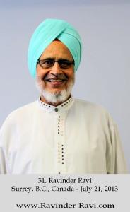 31. Ravinder Ravi - 2 - Surrey, B.C., Canada - July 21, 2013