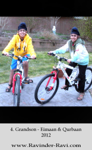 4. Grandson - Eimaan & Qurbaan - 2012
