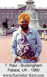 7. Ravi - Buckingham Palace, UK - 1980