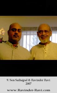 9. Son Saihajpal & Ravinder Ravi 2007